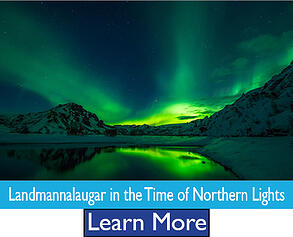 Landmannalaugar in the Time of Northern Lights Escorted Tour