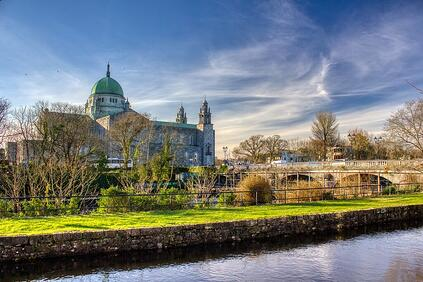 Galway Cathedral and Canal